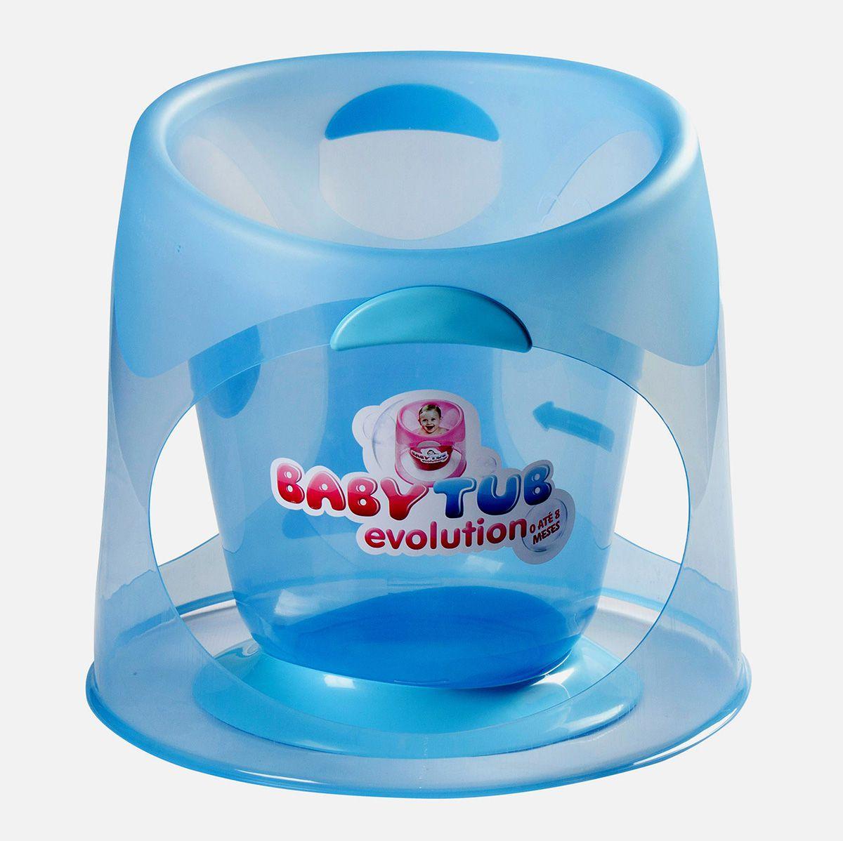 Ofurô Evolution 0-8m Azul - Baby Tub