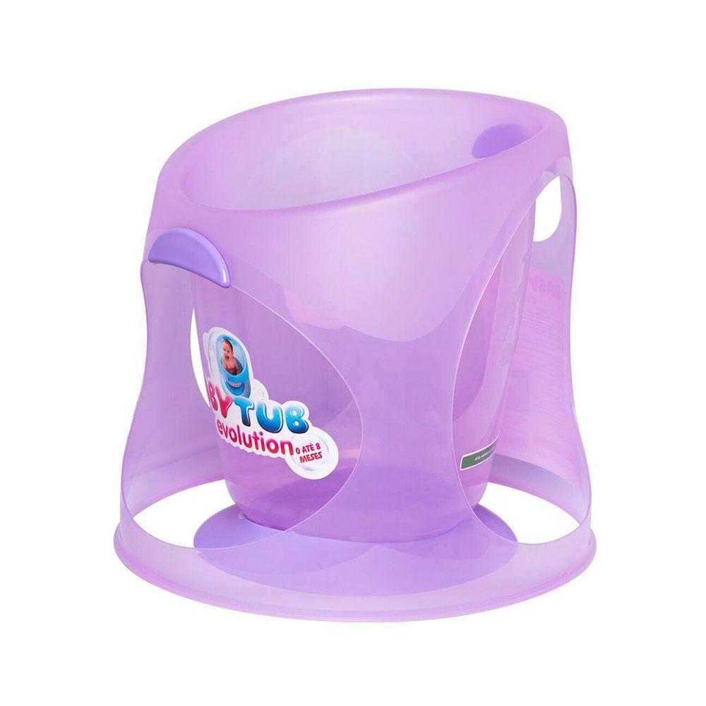 Ofurô Evolution 0-8m Lilás - Baby Tub