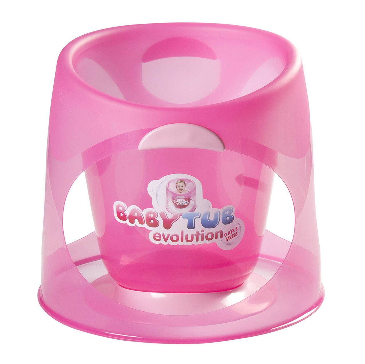 Ofurô Evolution 0-8m Rosa - Baby Tub
