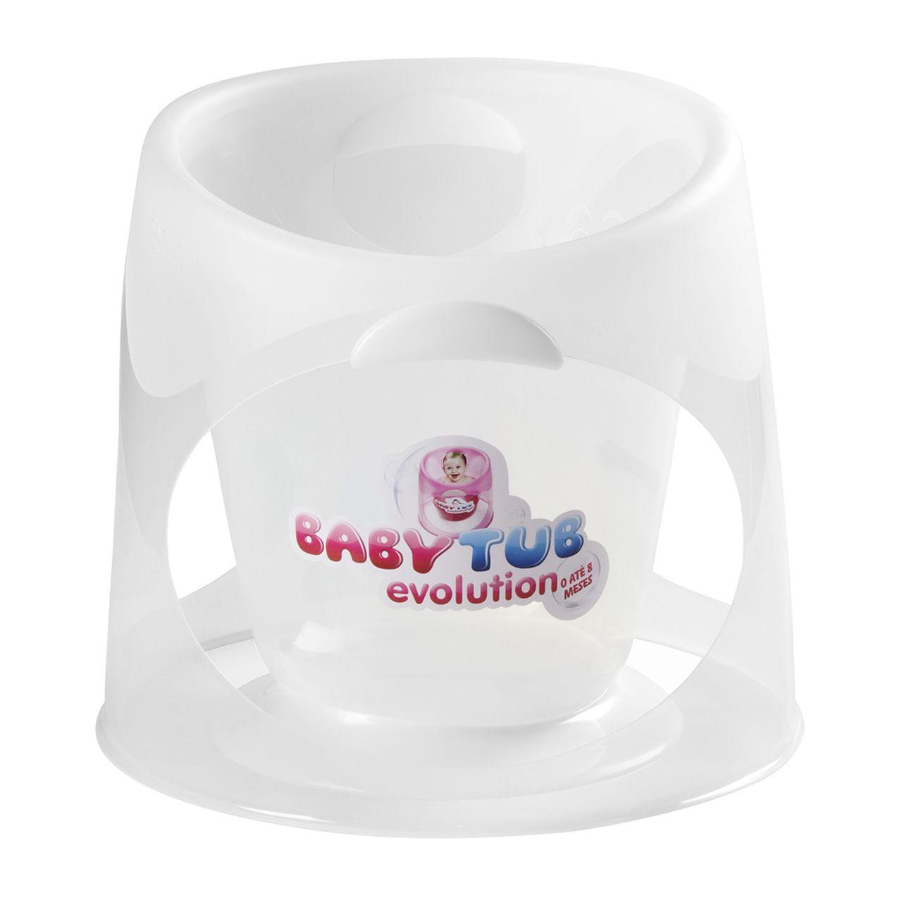 Ofurô Evolution 0-8m Transparente - Baby Tub