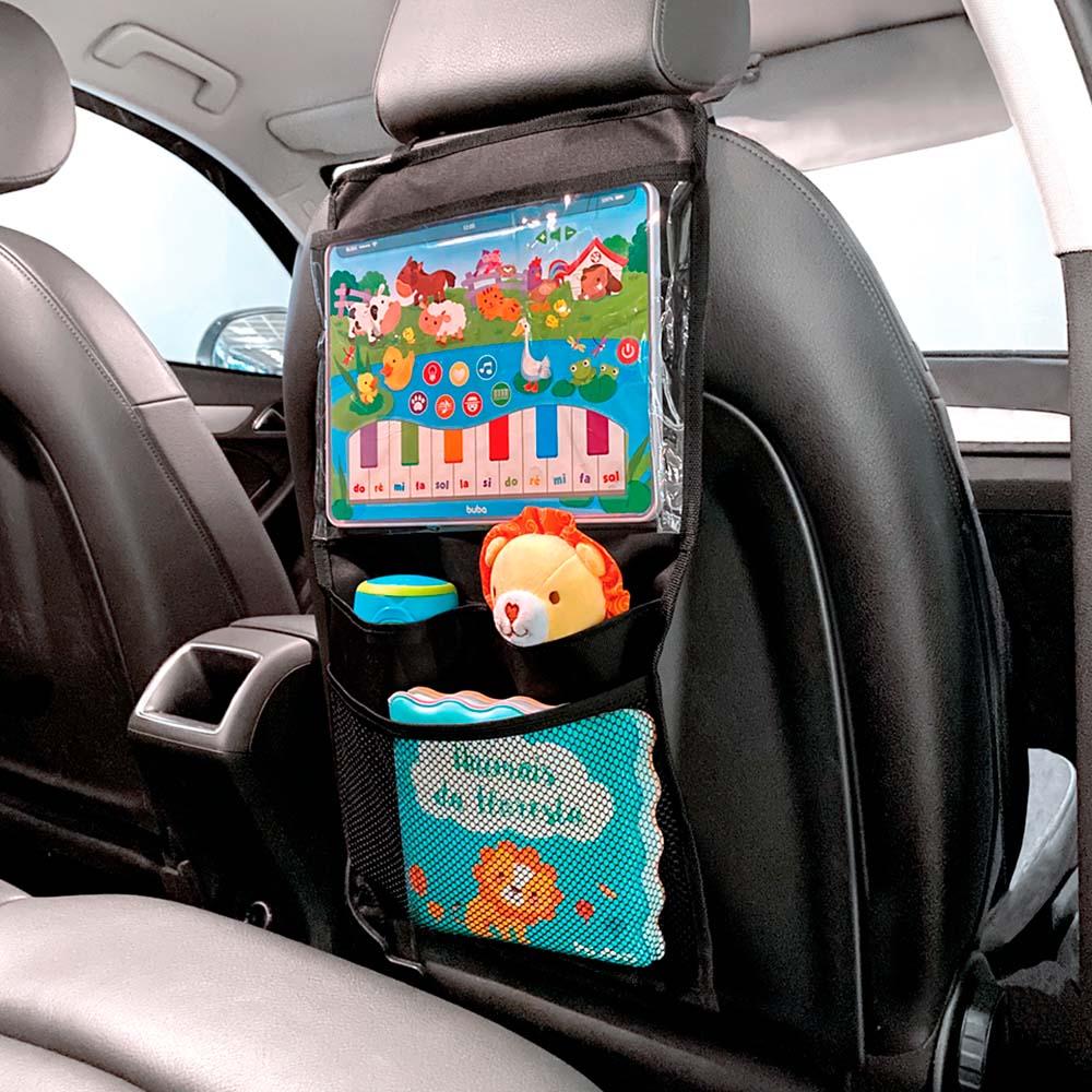 Organizador Infantil para Carro com Case para Tablet - Buba