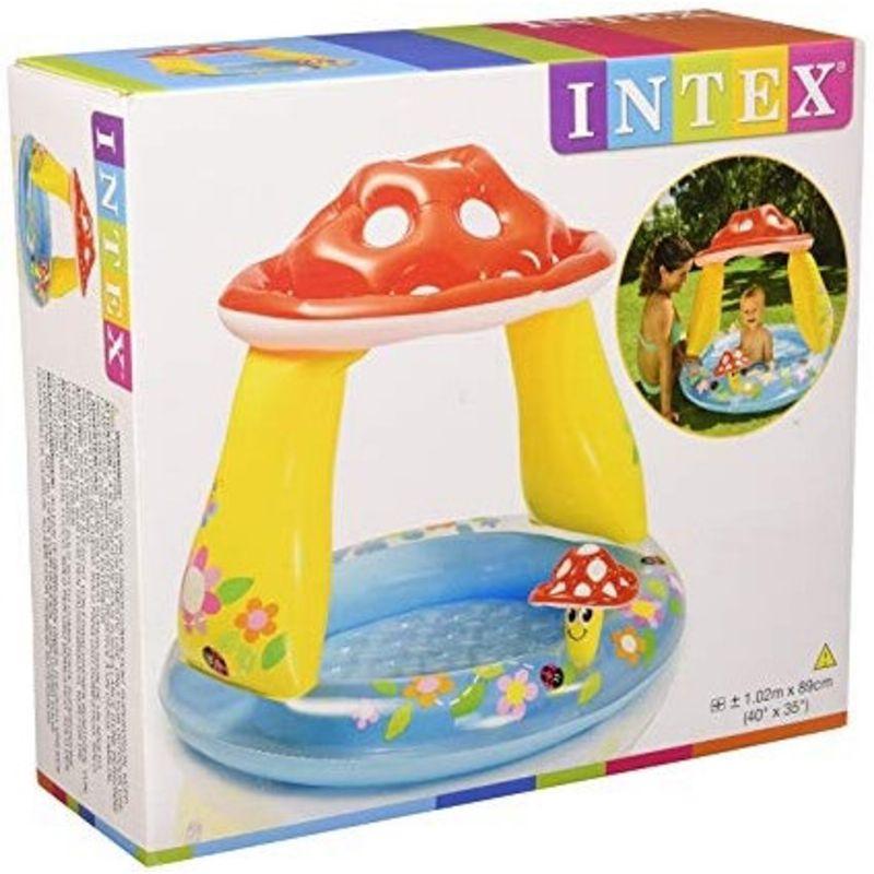Piscina Cogumelo Divertido com Cobertura 45 litros - INTEX