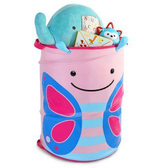 Porta Brinquedo Cilindrico Borboleta - Skip Hop