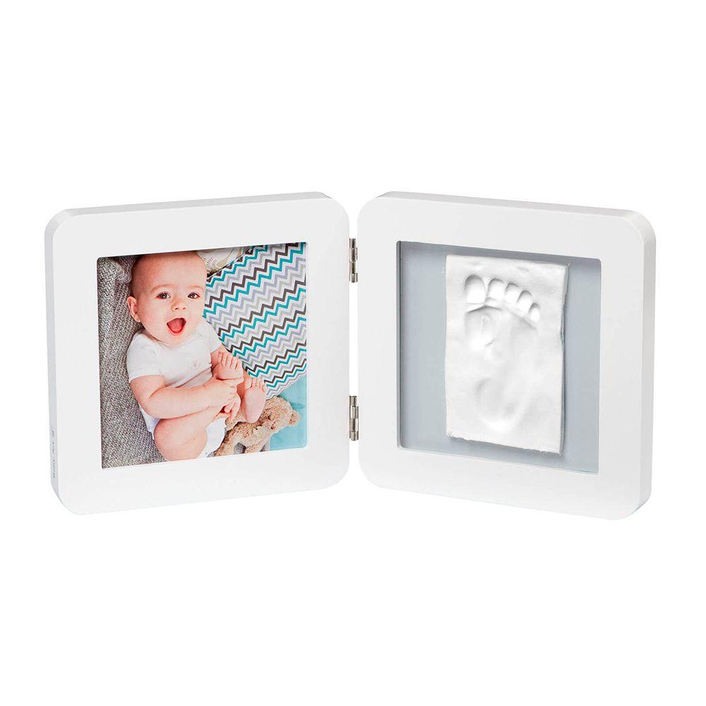 Porta Retrato My Baby Touch Duplo White - Baby Art