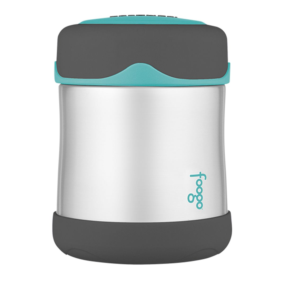 Pote Térmico Foogo 290ml Cinza e Azul - Thermos
