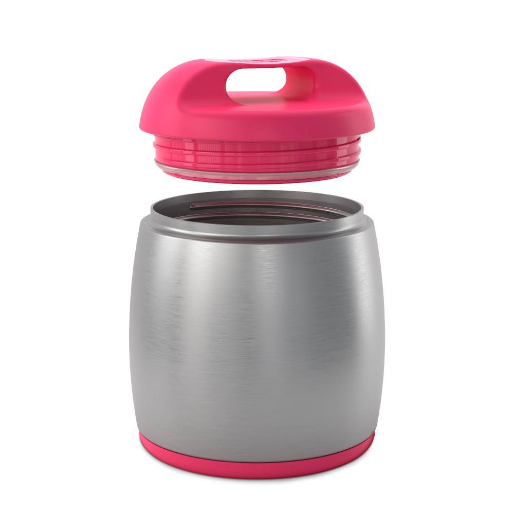 Pote Térmico Inox 350ml Rosa - Chicco