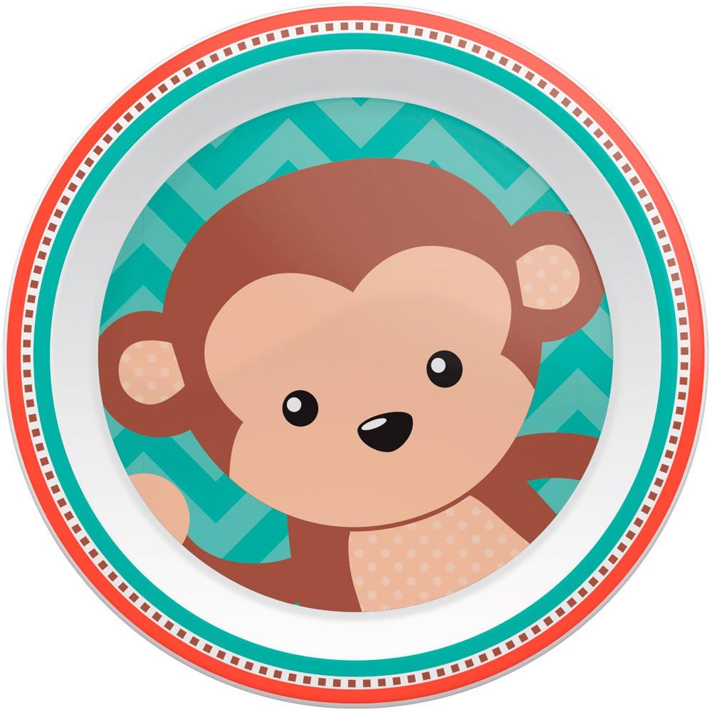 Pratinho Animal Fun Macaco - Buba