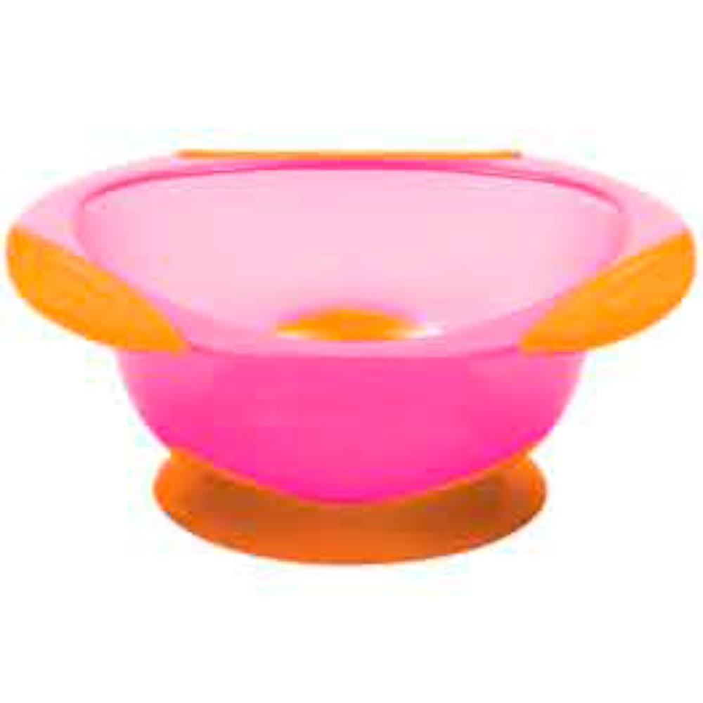 Pratinho Bowl com Ventosa Rosa - Buba