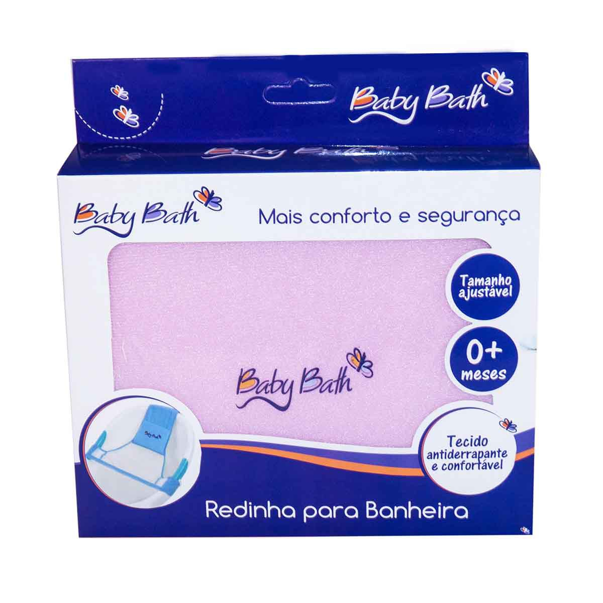 Redinha Banheira Rosa - Baby Bath