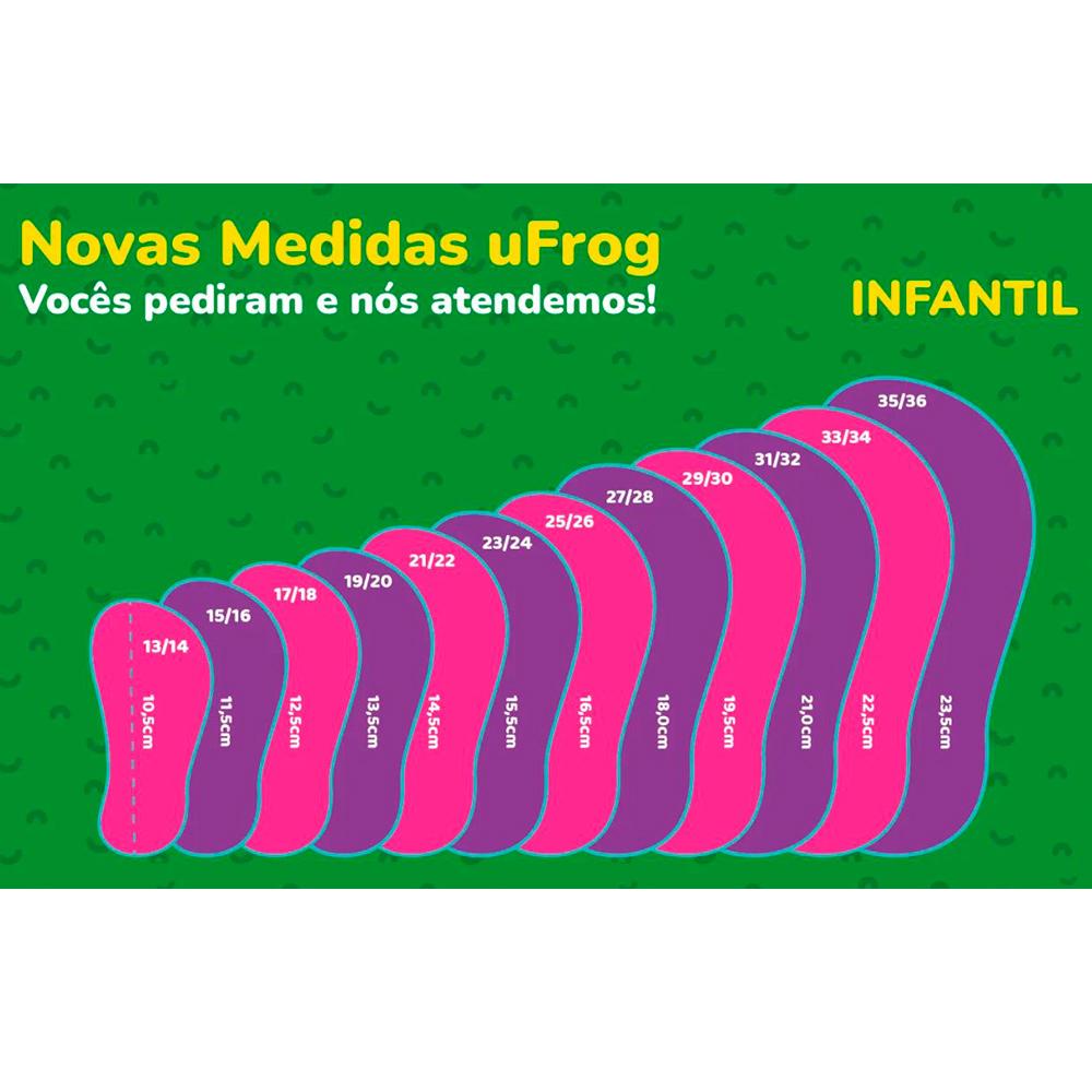 Sapato de Neoprene Infantil Jacaré - uFrog