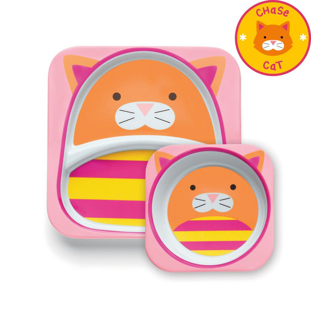 Set de Pratos Zoo - Gato - Skip Hop