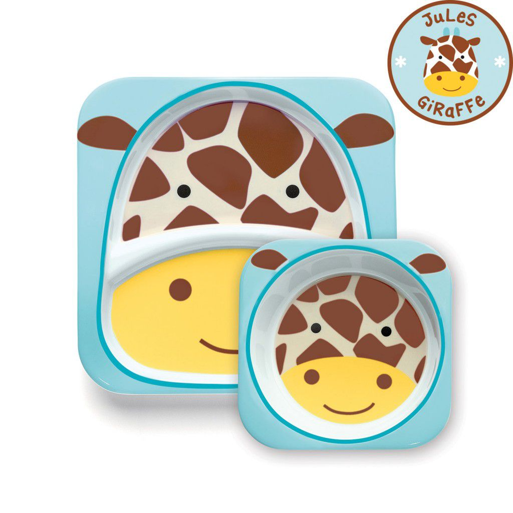 Set de Pratos Zoo - Girafa - Skip Hop