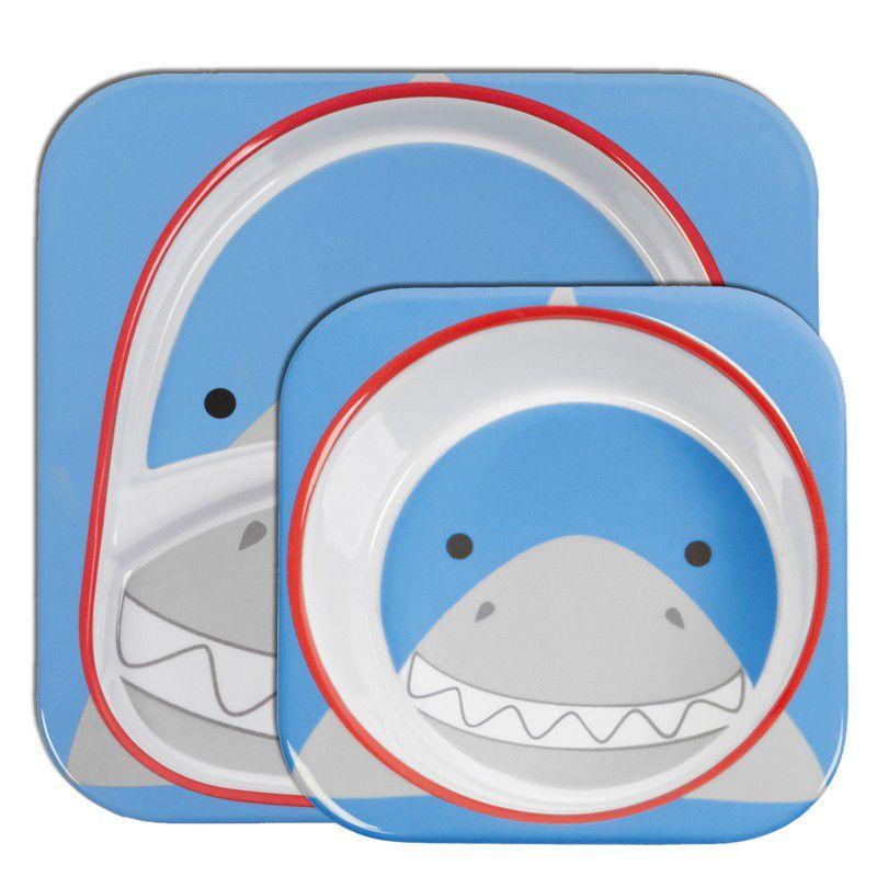 Set de Pratos Zoo - Tubarão - Skip Hop