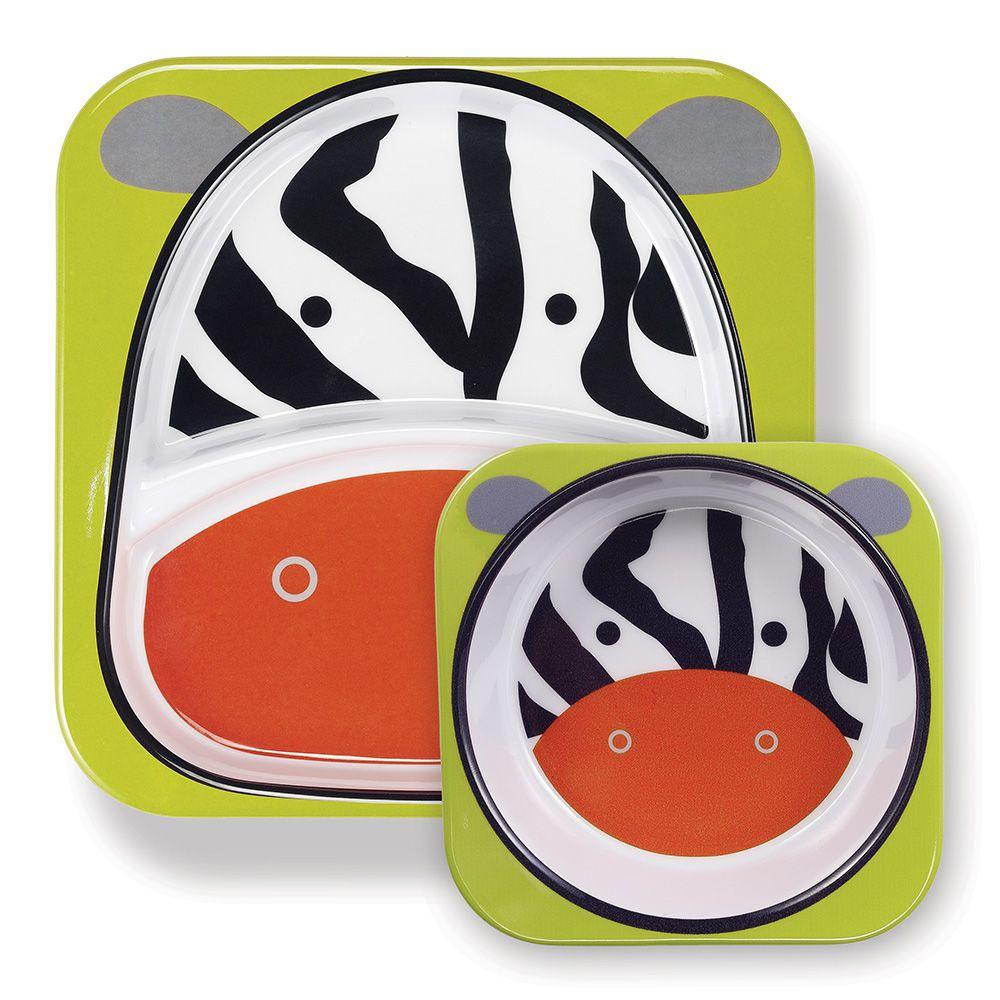 Set de Pratos Zoo - Zebra - Skip Hop