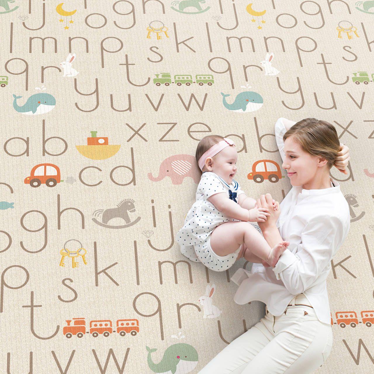 Tapete Hi Alfabeto Neutro MD - Girotondo Baby