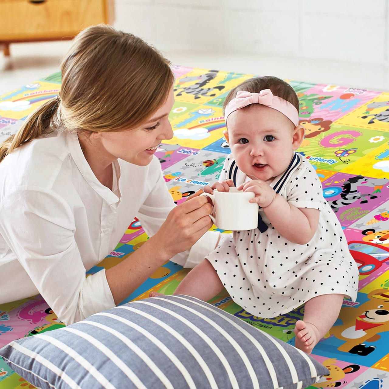 Tapete Hi Letras Selva MD - Girotondo Baby