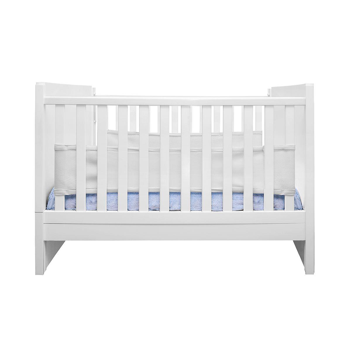Tela Respirável para Berço Air Baby Branco - Kababy