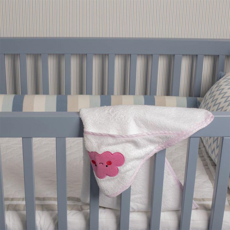Toalha com Capuz Nuvem - Infanti