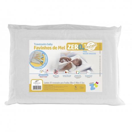Travesseiro Favinhos de Mel Antissufocante RN 0m+ - Fibrasca