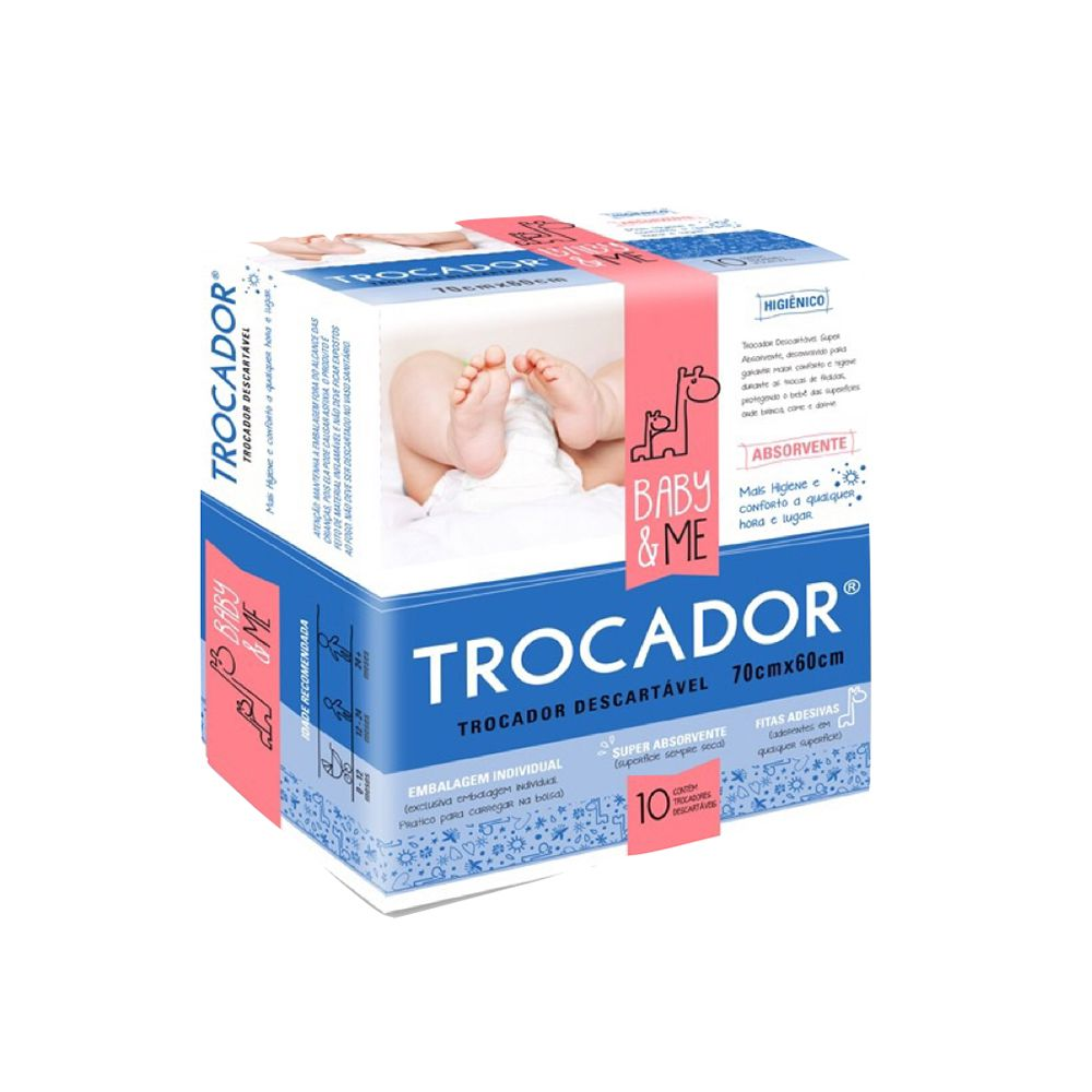 Trocador Pacote c/10 un. - Baby and Me