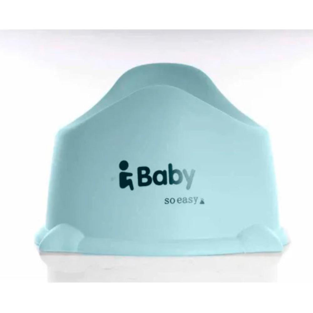 Troninho Baby com Tampa Azul/Cinza - Kababy