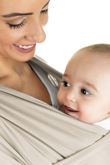 Wrap Sling Bege - Kababy