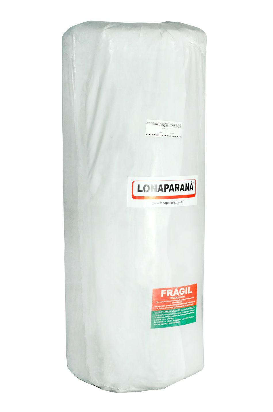 LONA PLÁSTICA BRANCA 6X100 / 40 KG