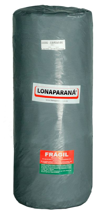 LONA PLÁSTICA PRATA VIRGEM 8X105 / 90 KG