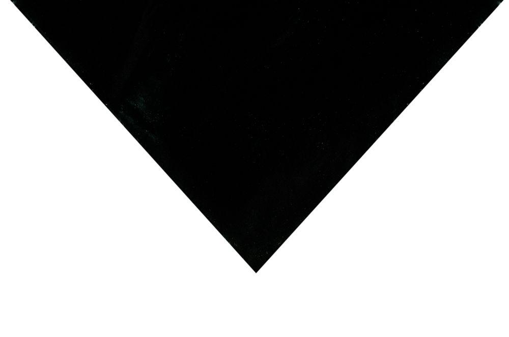 LONA PLÁSTICA PRETA 6X100 / 18 KG