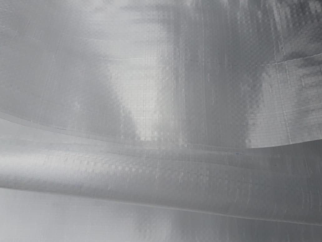 LONA PLÁSTICA RAFIA - TRANSLÚCIDA  4X50 / 200 m2