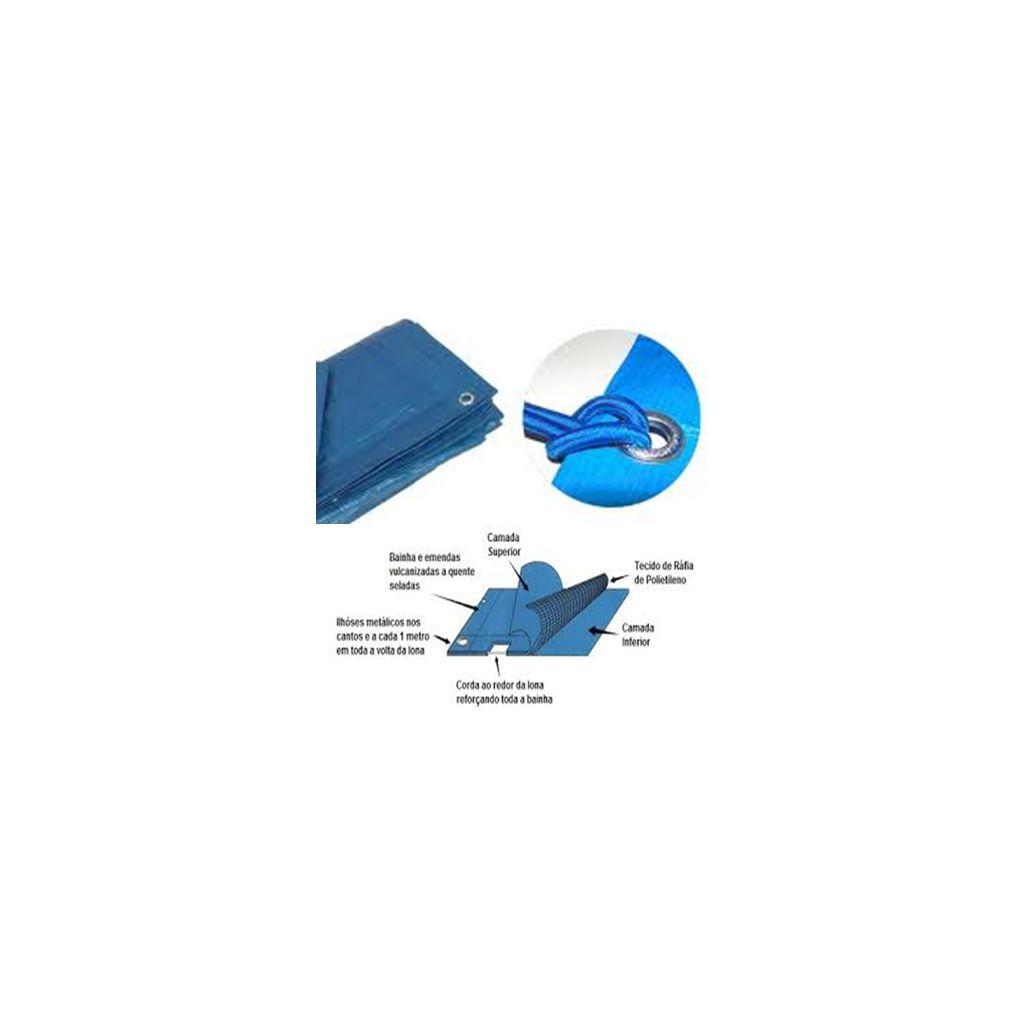 LONA RAFIA  4mX4m / 16m2 - 180 MICRAS