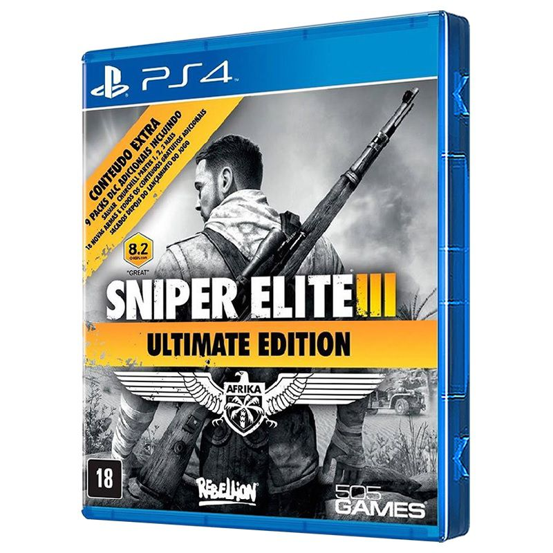 Jogo Sniper Elite 3: Ultimate Edition - PS4