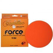 Boina de Espuma Agressiva Force Laranja - Cadillac by Lake Country 6.5""