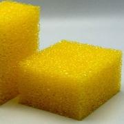 Esponja Amarela Anti-Inseto e Descontaminação de Vidro - 100x80x50mm - ToolSystem