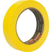 Fita Crepe Alta Performance Amarela - 3M - 24mmX40m