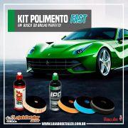 "Kit Polimento Fast - Brilho Perfeito - 5"" - Lincoln"