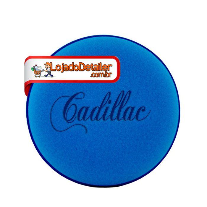 Aplicador de Espuma Azul p/ Enceramento - Cadillac