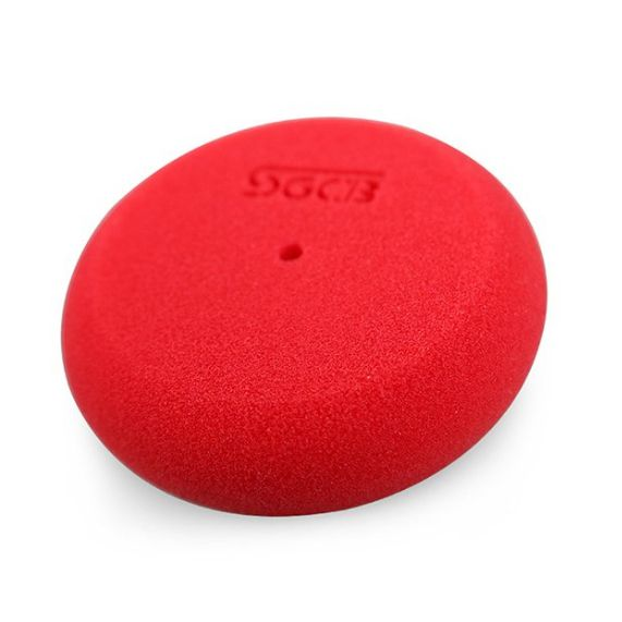Aplicador de Espuma - Ultra Macio - Vermelho - C/ 5 Unidades - SGCB