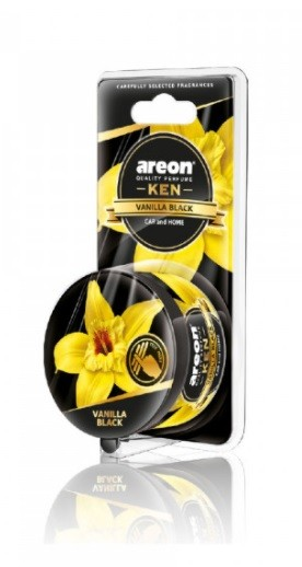 Areon Ken Blister Vanilla Black