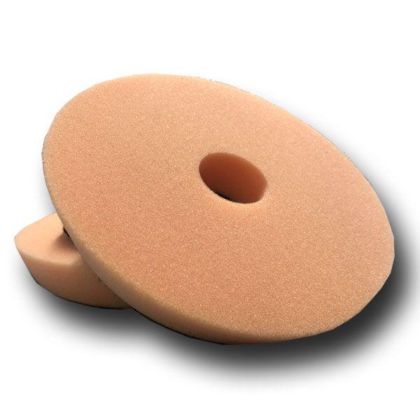 "Boina de Espuma 6"" Laranja Corte - DetailPads"