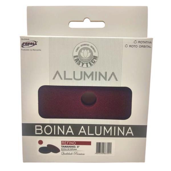 """Boina de Espuma Refino Alumina - 5"""" - EasyTech"""
