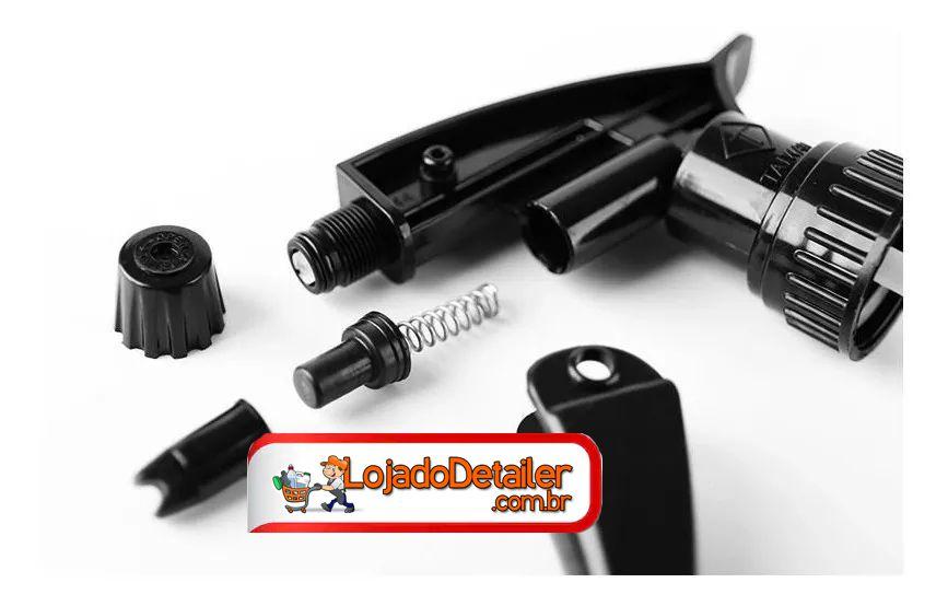 Borrifador Pulverizador c/ Resistência Quimica - Preto - 800ml - SGCB
