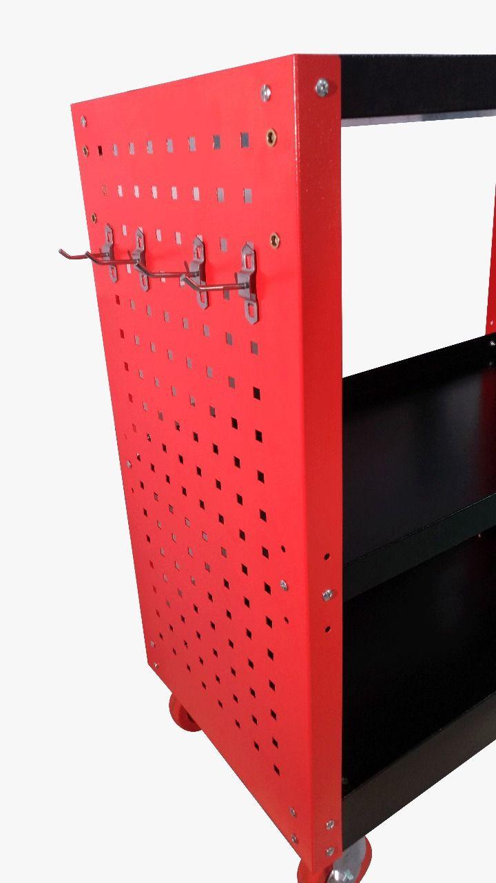 Carrinho Mod. Detalhador Profissional - Capacidade 120kg - Kers