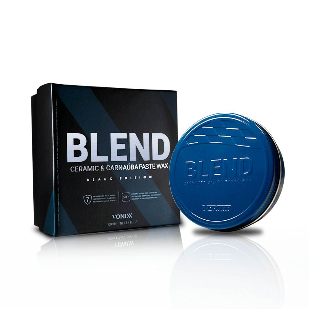 Cera Blend Black - Ceramic & Carnaúba Paste Wax Black Edition 100ml - Vonixx