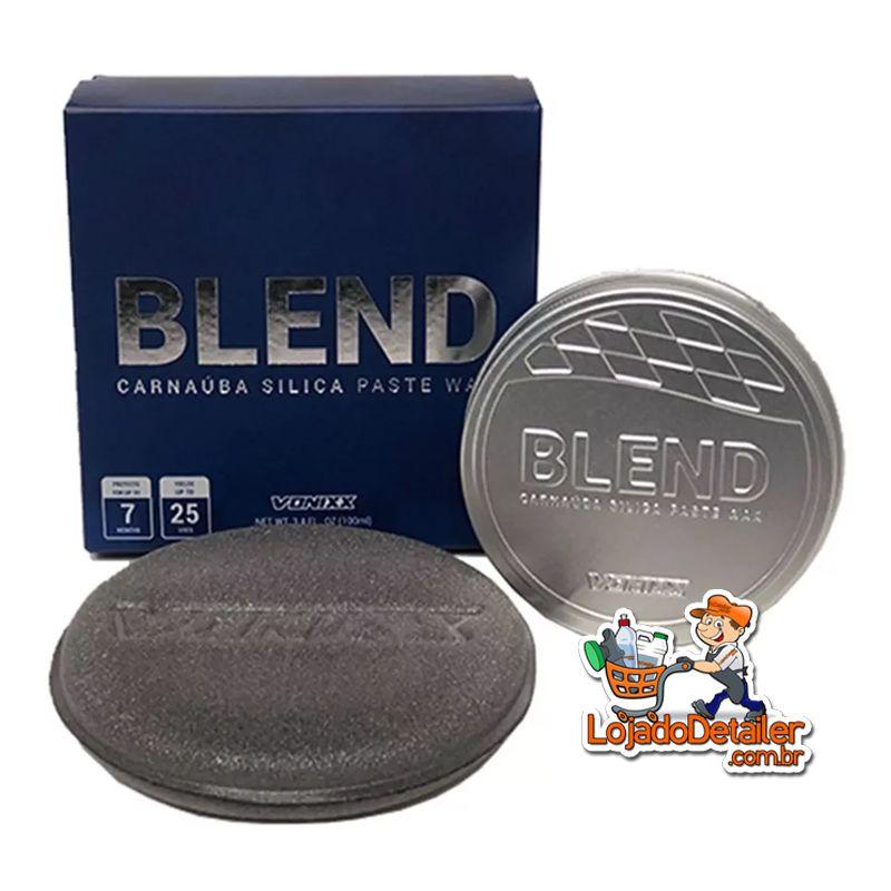 Cera Blend Carnaúba Sílica Protetora Paste Wax - 100ml - Vonixx