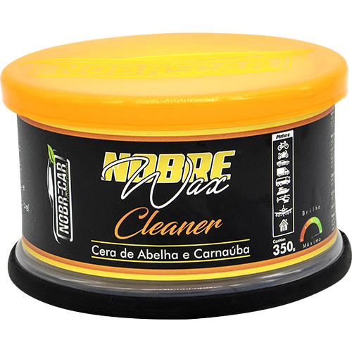 Cera Limpadora Wax Cleaner Nobre Car - 350gr - NobreCar