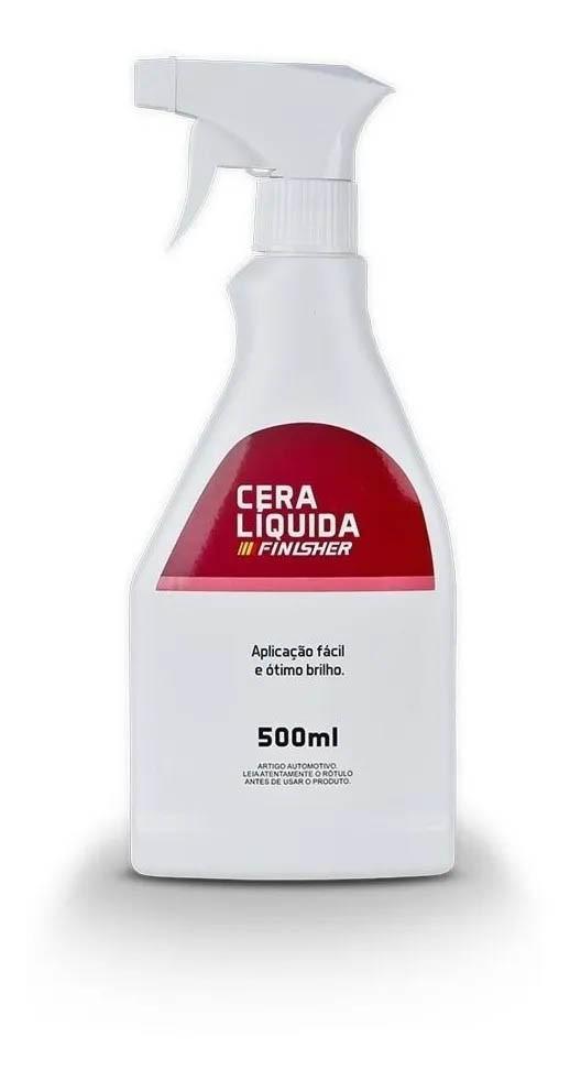 Cera Líquida Carnaúba Para Brilho Spray - 500ml - Finisher