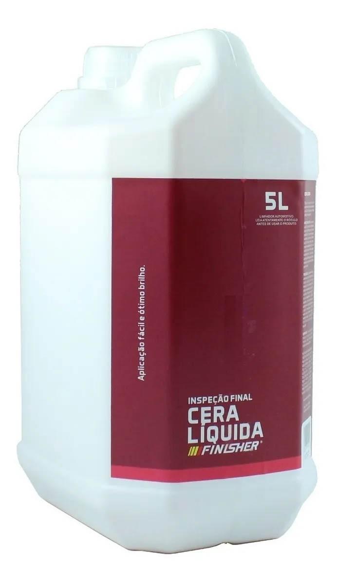 Cera Líquida Carnaúba Para Brilho Spray - 5L - Finisher