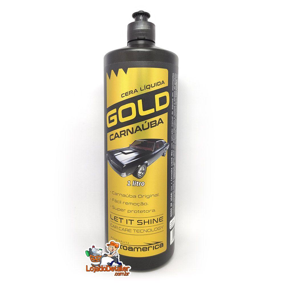 Cera Líquida de Carnaúba Gold - 1L - Autoamerica