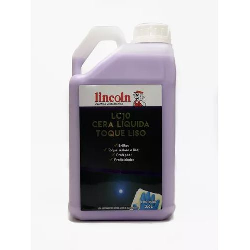 Cera Liquida Toque Liso - LC10 - 3,6L - Lincoln